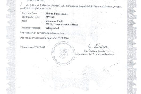 Certifikáty 004